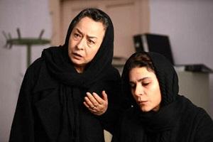 """موقعیت دردناک آزیتا حاجیان در فیلم """"خط فرضی"""" + عکس"""