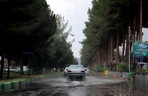 بارش باران در ۲۰ استان کشور