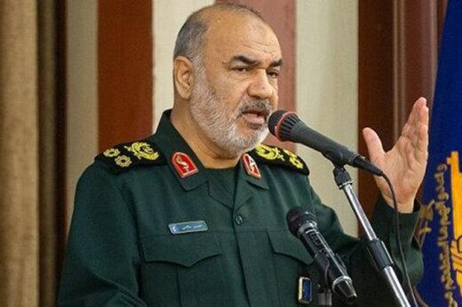 فرمانده کل سپاه: با یک عملیات می توان اسرائیل را نابود کرد /خیلی ساده می شود تجارت دریایی اسراییل با اخلال جدی مواجه کرد