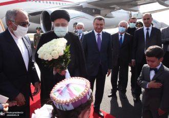 رئیسی وارد پایتخت تاجیکستان شد