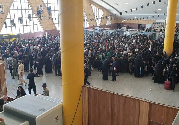 فرمانده انتظامی خوزستان: پنج هزار زائر ایرانی وارد عراق شدند