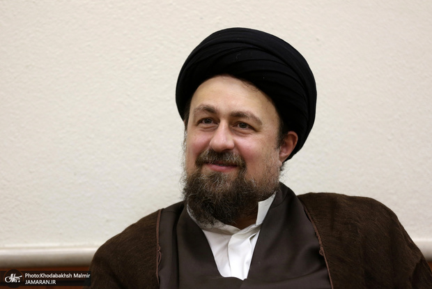 تبریک سید حسن خمینی به حسن یزدانی و امیرحسین زارع + عکس