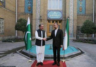 دیدار وزرای خارجه ایران و پاکستان در تهران برگزار شد