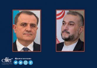 گفت و گوی تلفنی امیرعبداللهیان با وزیر خارجه جمهوری آذربایجان در مورد مسائل اخیر/ وزرای خارجه دو کشور از یکدیگر برای سفر به تهران و باکو دعوت کردند